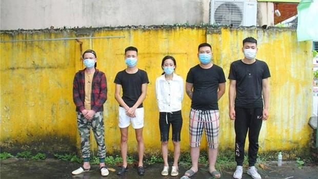 Dix Chinois entres illegalement au Vietnam arretes a Lao Cai hinh anh 1