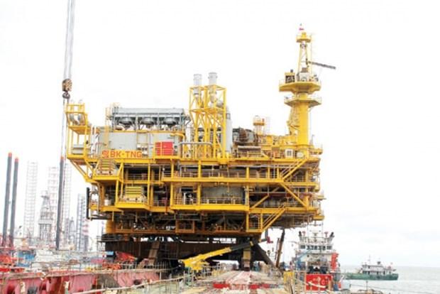 Vietsovpetro exploite 500 millions de metres cubes de gaz au gisement de Thien Ung hinh anh 1