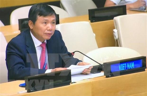 Le Vietnam appelle les parties a mener la reconciliation nationale en Guinee-Bissau hinh anh 1