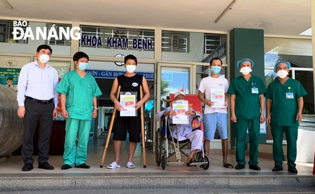 Covid-19 : neuf nouveaux patients a Da Nang annonces gueris hinh anh 1