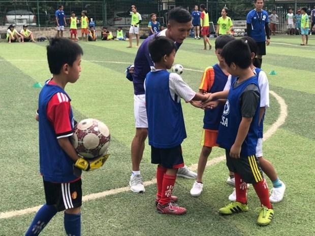 Football: la FCSA aide a la formation d'entraineurs amateurs vietnamiens hinh anh 1