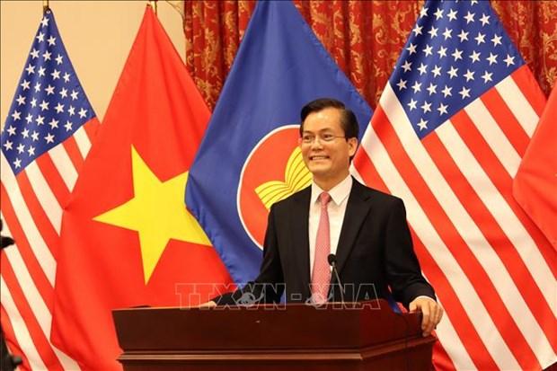 Celebration des 53 ans de la fondation de l'ASEAN aux Etats-Unis hinh anh 1
