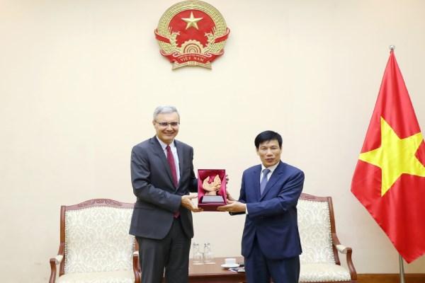 La France souhaite promouvoir sa cooperation avec le Vietnam en matiere de sport hinh anh 1