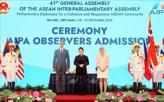 L'AIPA souligne l'importance d'assurer la paix pour l'interet des peuples de l'ASEAN hinh anh 3