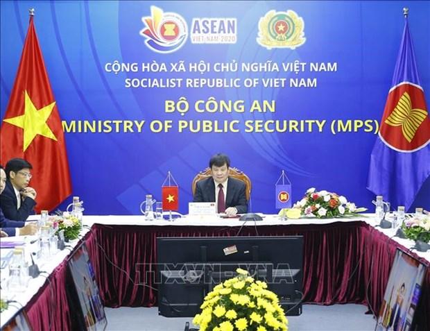 L'ASEAN renforce la cooperation dans la lutte contre la criminalite transnationale hinh anh 1