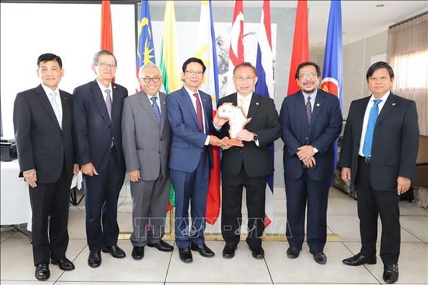 Les ambassadeurs des pays de l'ASEAN en Afrique du Sud saluent la presidence vietnamienne hinh anh 1
