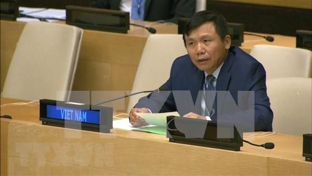 COVID-19: le Vietnam appelle a un « vaccin du multilateralisme » hinh anh 1