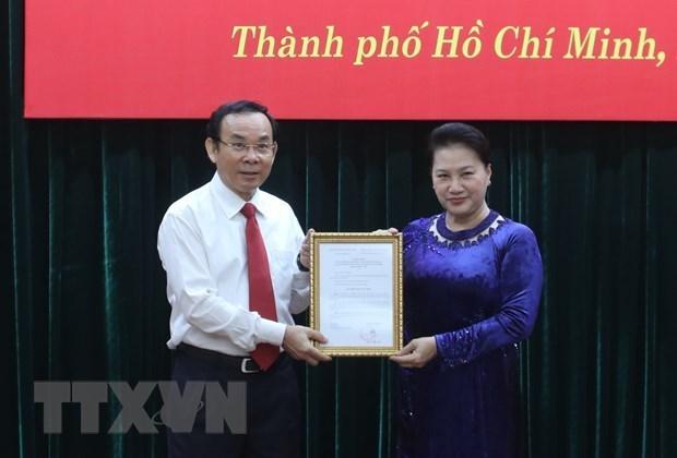 Nguyen Van Nen nomme au candidat de secretaire du Comite du Parti de HCM-Ville hinh anh 1