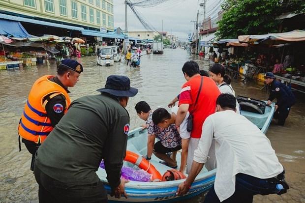 Les Etats-Unis soutiennent la reponse du Cambodge aux catastrophes naturelles hinh anh 1