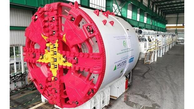 L'installation prochaine du premier tunnelier de la ligne de metro N°3 de Hanoi hinh anh 1