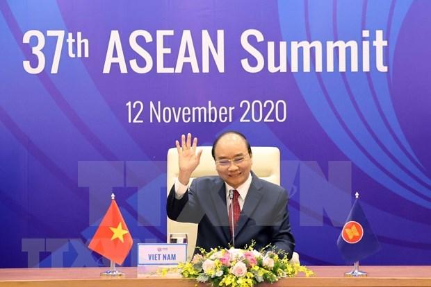 Prix de l'ASEAN 2020 : le Centre de recherche sur l'ASEAN base a Singapour distingue hinh anh 1