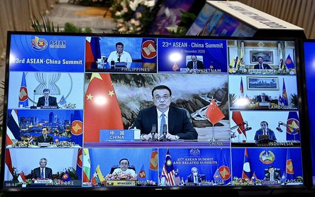 ASEAN 2020 : l'ASEAN et la Chine renforcent leur cooperation dans des domaines hinh anh 1