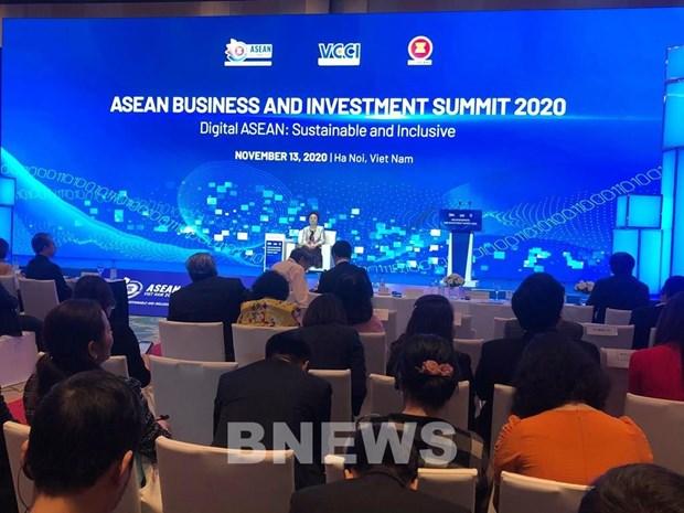 L'ASEAN s'oriente vers le developpement numerique hinh anh 1