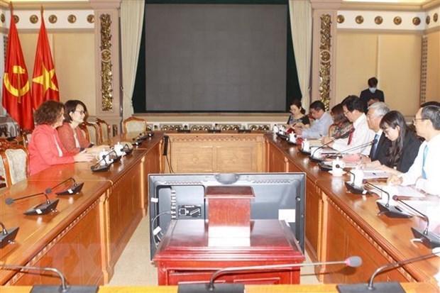 Ho Chi Minh-Ville cherche a elargir sa cooperation avec la Banque mondiale hinh anh 1