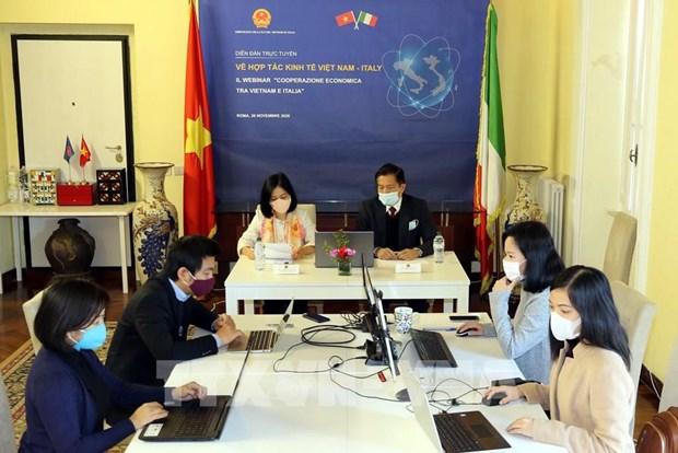 Le Vietnam et l'Italie promeuvent leur cooperation economique bilaterale hinh anh 1