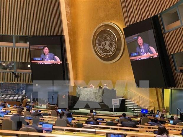 ONU : le Vietnam souligne la liberte de navigation et de survol en Mer Orientale hinh anh 1