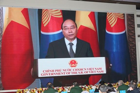 ASEAN 2020 : ceremonie marquant le 10e anniversaire de l'ADMM+ hinh anh 1