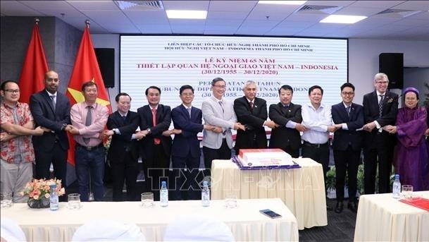 Les 65 ans de relations diplomatiques Vietnam-Indonesie celebres a Ho Chi Minh-Ville hinh anh 1