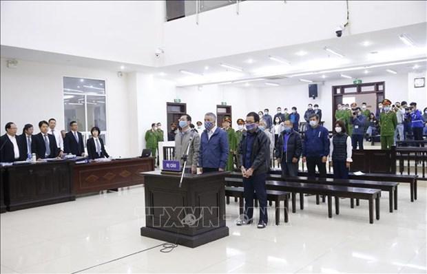 La reouverture du proces de Vu Huy Hoang et de ses complices prevue le 18 janvier hinh anh 2