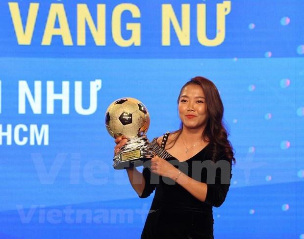 Nguyen Van Quyet et Huynh Nhu laureats du Ballon d'Or du Vietnam 2020 hinh anh 3