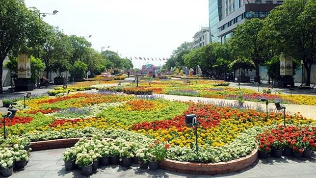 Tet 2021 : des festivals floraux tres attendus a Ho Chi Minh-Ville hinh anh 1
