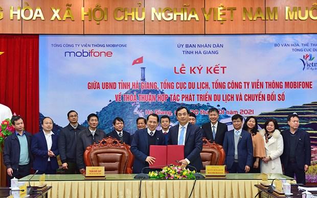 Ha Giang s'engage sur la voie du tourisme 4.0 hinh anh 1