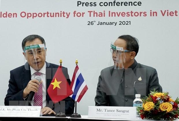 Les entreprises thailandaises appelees a promouvoir leurs investissements au Vietnam hinh anh 1