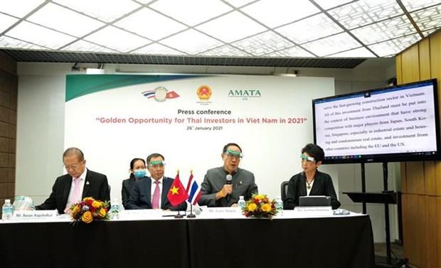 Les entreprises thailandaises appelees a promouvoir leurs investissements au Vietnam hinh anh 2