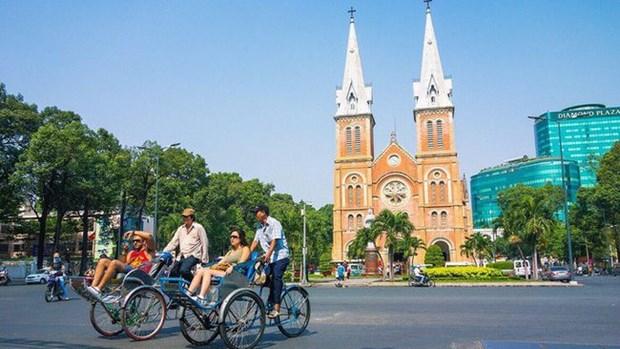 Ho Chi Minh-Ville: chute en 2020 de plus de 55.000 milliards de dongs des revenus du tourisme hinh anh 1