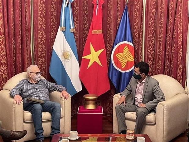 Promoviendo buenos lazos políticos Vietnam - Argentina hinh anh 1