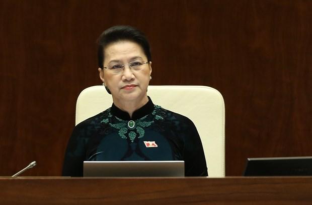 Procedures pour liberer de ses fonctions la presidente de l'Assemblee nationale hinh anh 1
