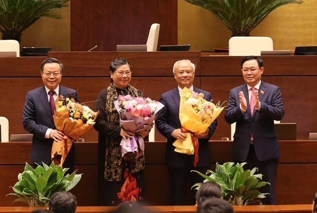 Trois vice-presidents de l'Assemblee nationale liberes de leurs fonctions hinh anh 1