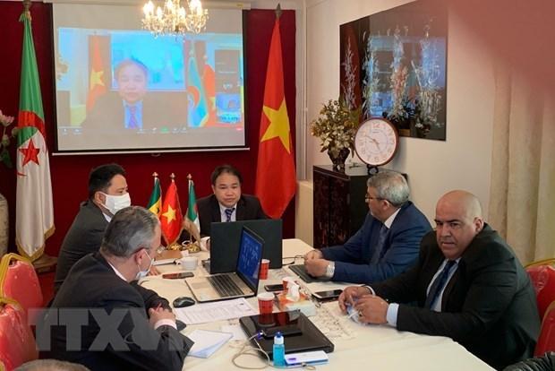 Webinaire pour renforcer les liens commerciaux entre le Vietnam, l'Algerie et le Senegal hinh anh 1