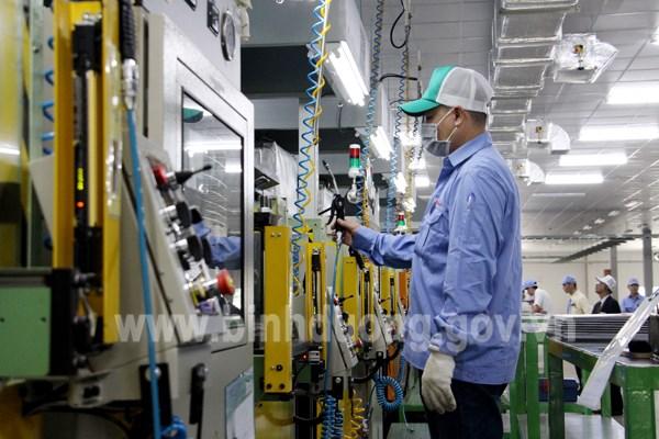 Binh Duong: l'indice de production industrielle en hausse de 6,9% au premier trimestre hinh anh 1