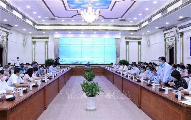 Covid-19: les circonscriptions electorales a HCM-Ville doivent se conformer aux regles sanitaires hinh anh 2