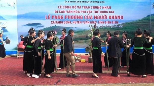 Dien Bien : la fete de Pang Phoong sur la liste du patrimoine culturel immateriel national hinh anh 1