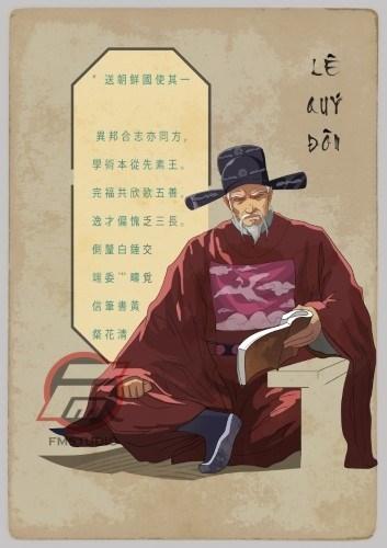 De jeunes artistes passionnes par les illustrations historiques hinh anh 1