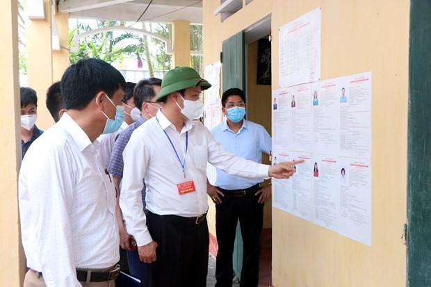 Elections legislatives: Hai Duong durcit des mesures preventives hinh anh 1