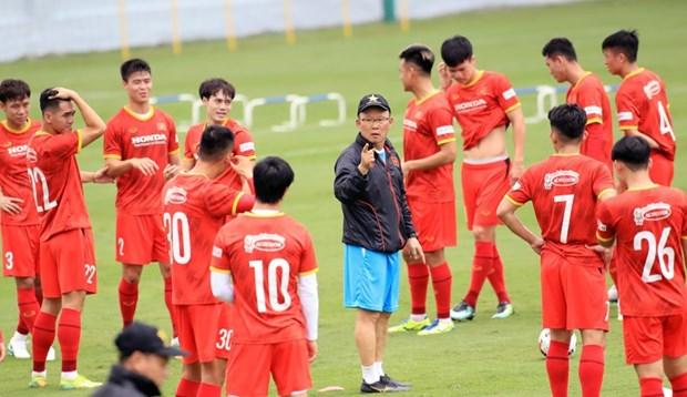 Eliminatoires de la Coupe du Monde 2022 : 29 footballeurs vietnamiens partiront pour les EAU hinh anh 2
