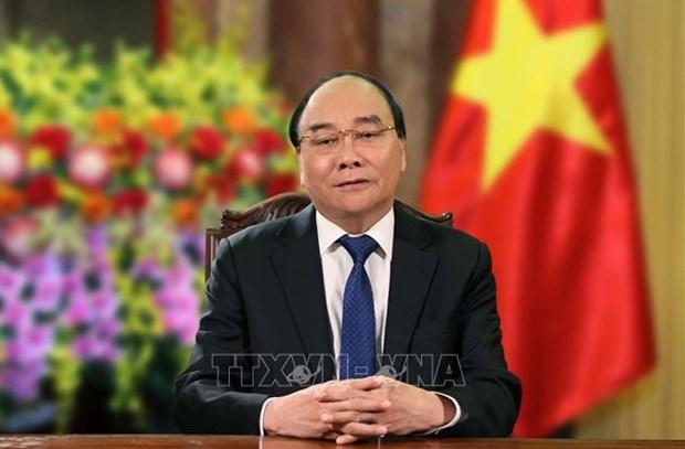 Le president vietnamien souhaite succes aux Jeux olympiques et paralympiques hinh anh 1