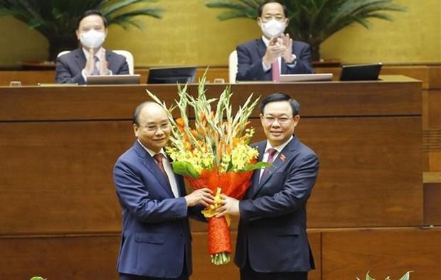 Assemblee nationale : Nguyen Xuan Phuc elu president vietnamien hinh anh 2