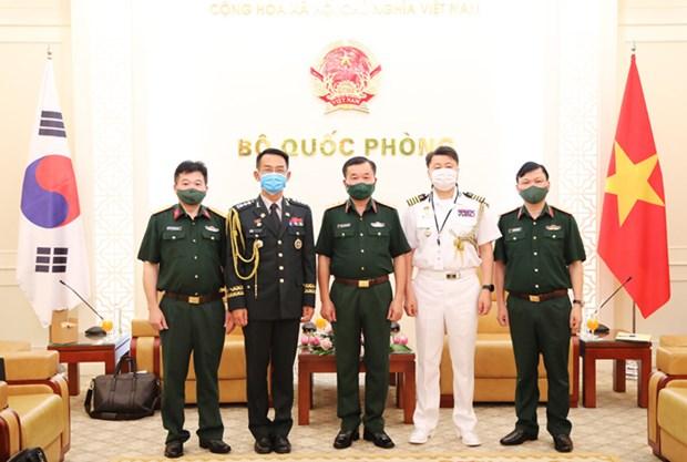 Promotion de la cooperation en matiere de defense entre le Vietnam et la Republique de Coree hinh anh 2