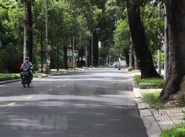 Covid-19 : Ho Chi Minh-Ville prolonge la distanciation sociale de 14 jours hinh anh 1