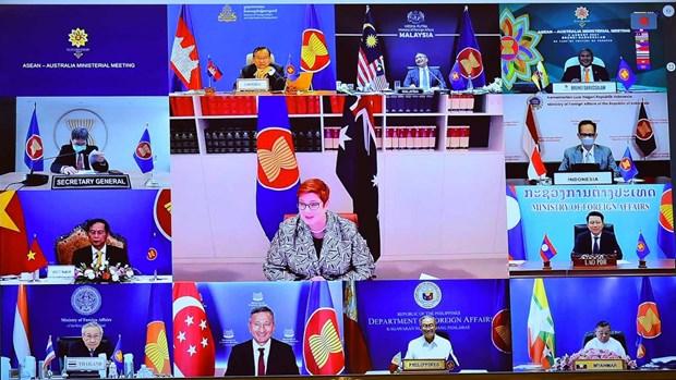 Le Vietnam a la reunion des ministres des Affaires etrangeres ASEAN – Australie hinh anh 1