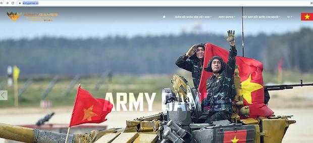 Le Vietnam lancera prochainement une page web sur les Army Games 2021 hinh anh 1