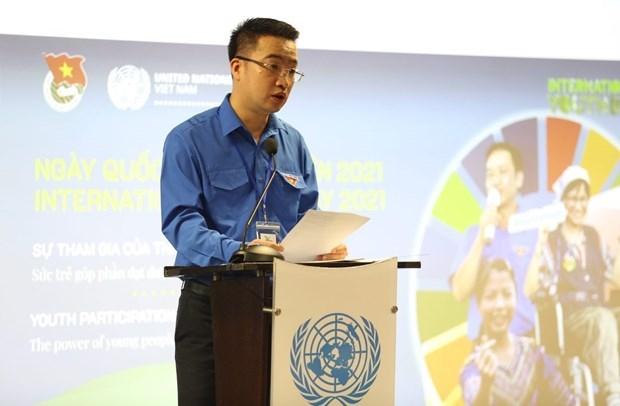 Le Vietnam celebre la Journee internationale de la jeunesse 2021 hinh anh 2