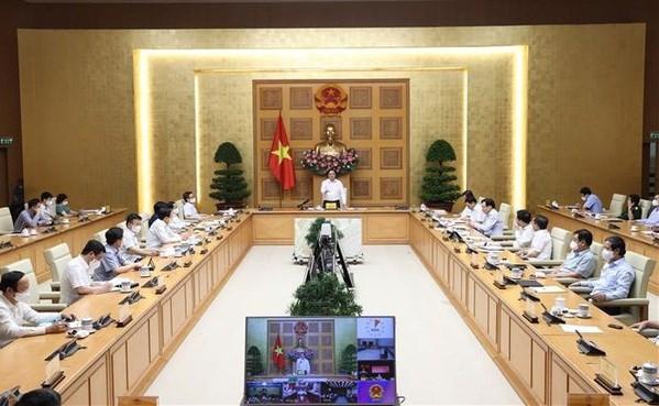 Covid-19 : le Premier ministre appelle tout le pays a soutenir HCM-Ville et les localites voisines hinh anh 1