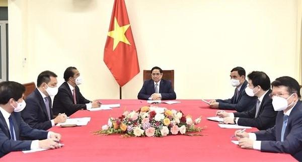 Le Vietnam propose a la Belgique de cooperer au transfert de production de vaccin anti-Covid-19 hinh anh 1