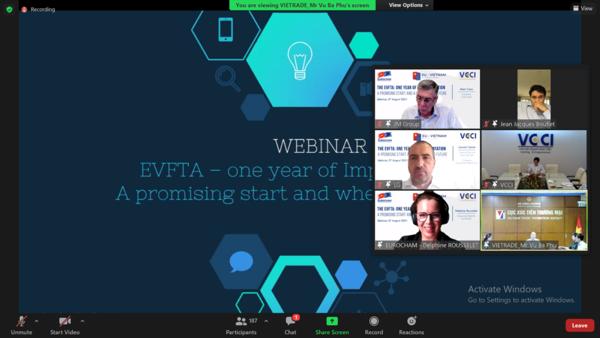 EVFTA : un an apres - catalyseur pour les entreprises deux parties hinh anh 1