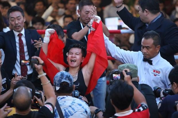 Une boxeuse vietnamienne au Championnat du monde WBO prevu en Republique de Coree hinh anh 1